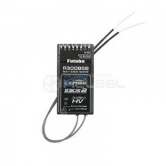 [FUT07101975-3] Futaba R3008SB 2.4GHz T-FHSS 8/32-Channel S.BUS2 HV Telemetry Receiver